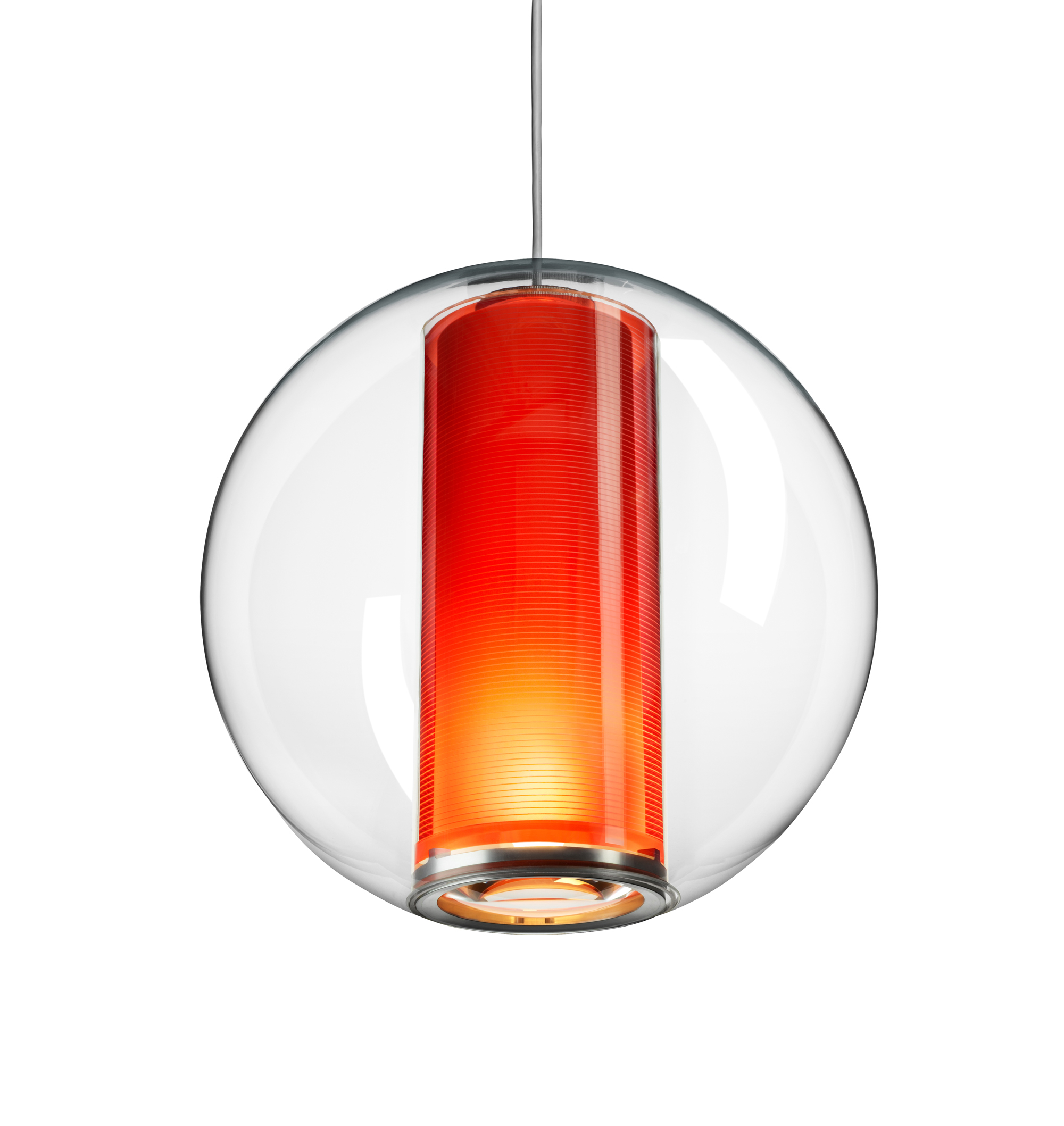 Orange hanging lamp - Downloads
